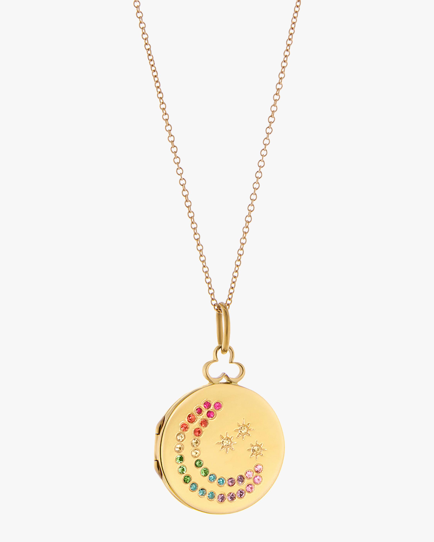 Moon & Stars Rainbow Necklace