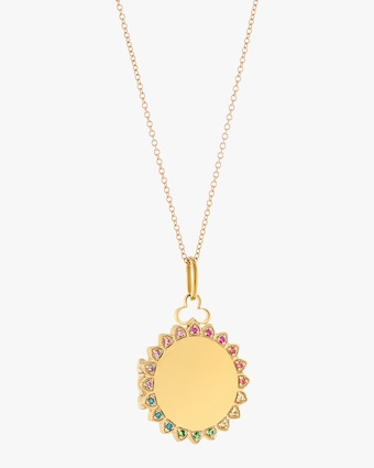 Devon Woodhill Sunshine Rainbow Locket Necklace 1