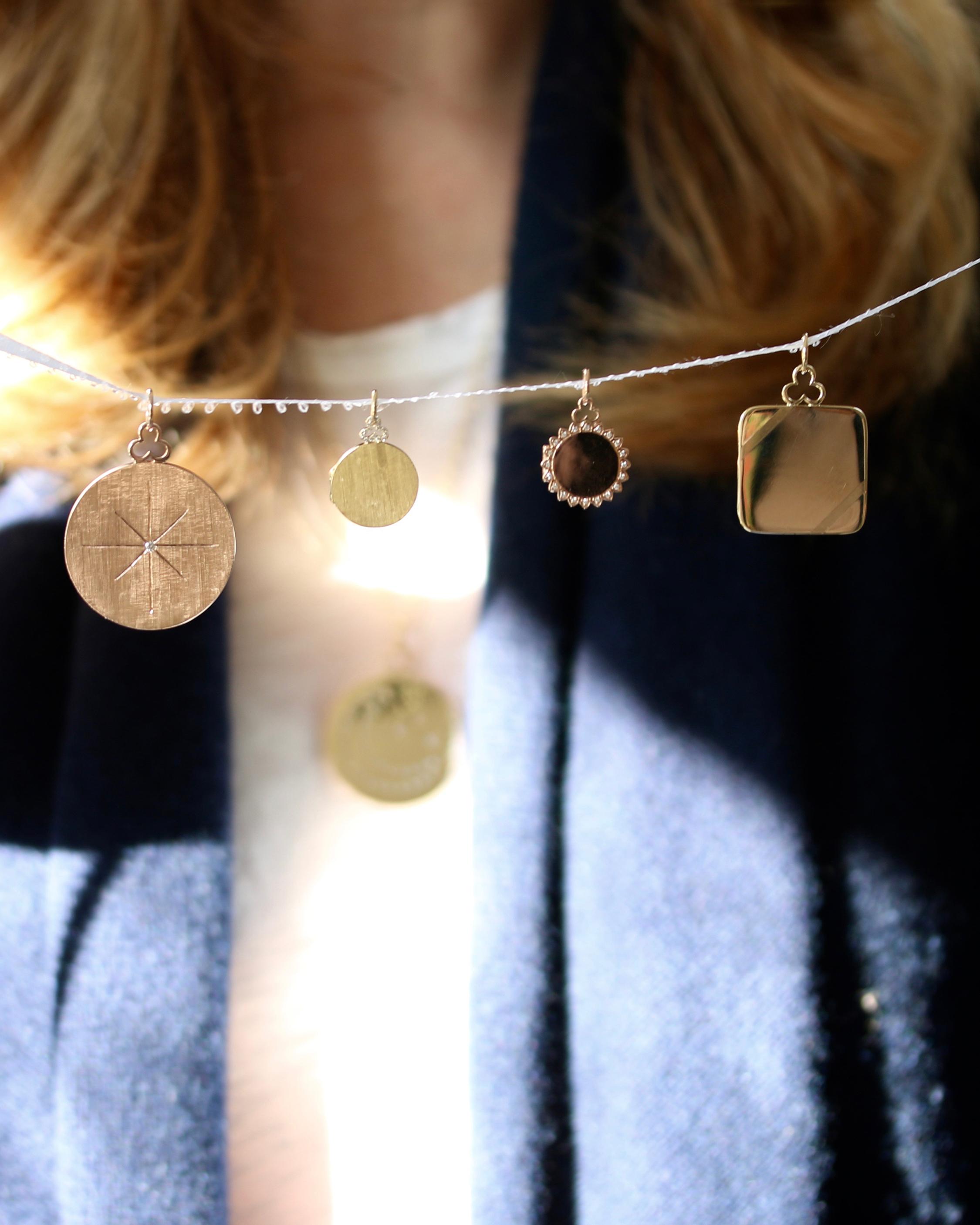 Devon Woodhill Sunshine Rainbow Locket Necklace 1