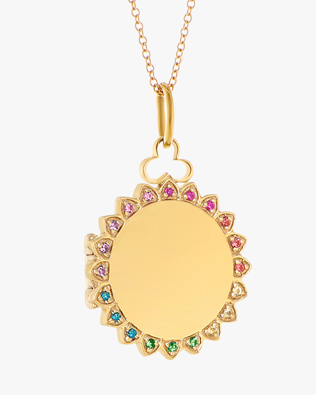 Devon Woodhill Sunshine Rainbow Locket Necklace 2