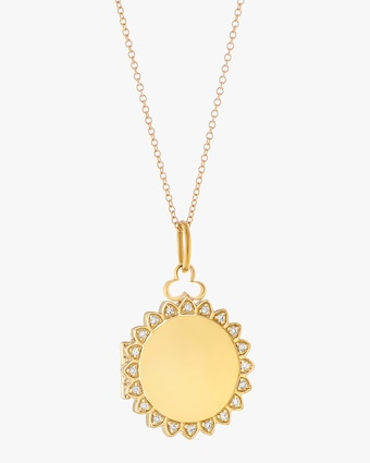 Sunshine Locket Necklace