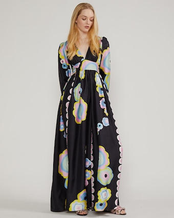 Genevieve V Neck Maxi Dress