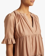Cynthia Rowley Kaia Tiered Mini Dress 3