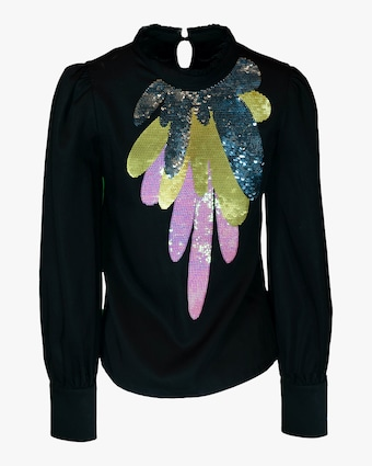 Candice Embroidered Top