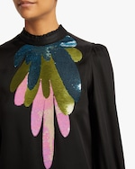 Cynthia Rowley Candice Embroidered Top 3