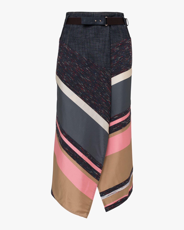Dorothee Schumacher Energetic Lines Midi Skirt 0