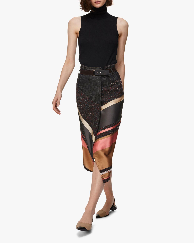 Dorothee Schumacher Energetic Lines Midi Skirt 2
