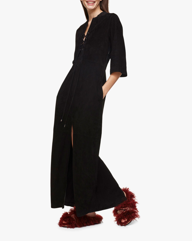 Velour Softness Maxi Dress