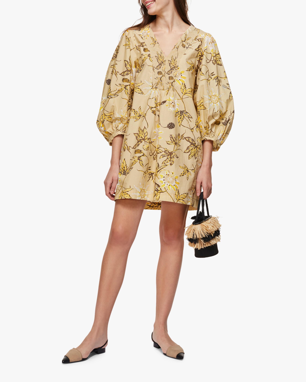Delicate Florals Mini Dress