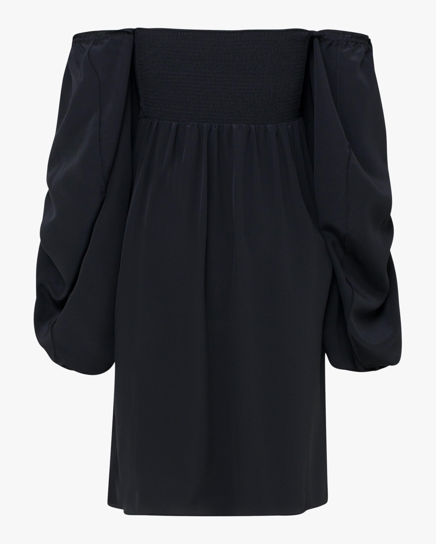 Fluid Volumes Off-Shoulder Dress