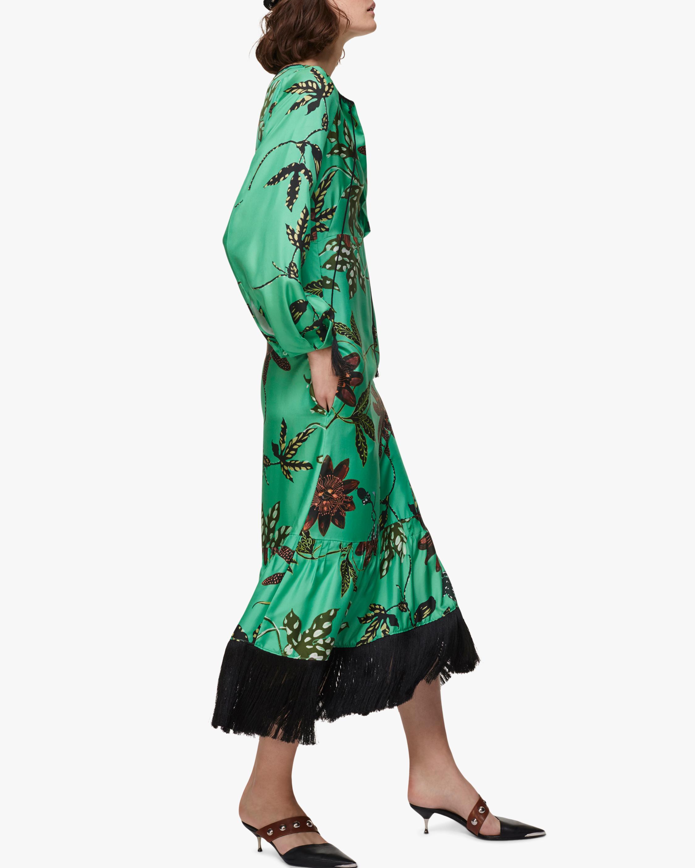 Powerful Flora Midi Dress