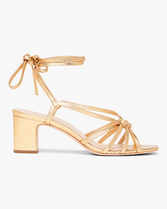 Knotted Wrap Sandal