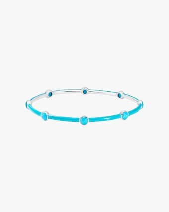 Carnevale Eight-Stone Bangle Bracelet