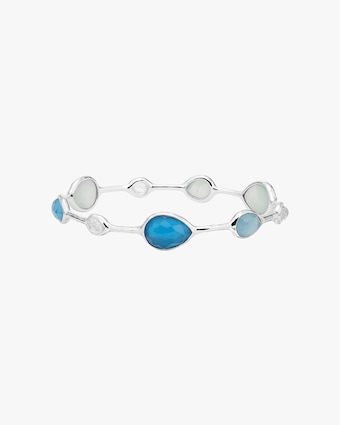 Wonderland Teardrop Bangle Bracelet