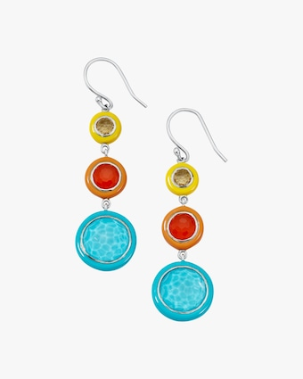 Carnevale Three-Tier Drop Earrings