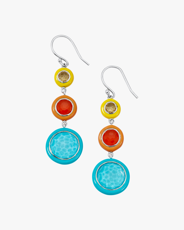 Ippolita Carnevale Three-Tier Drop Earrings 2