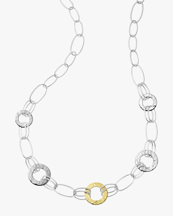 Ippolita Chimera Classico Hammered Disc Necklace 2