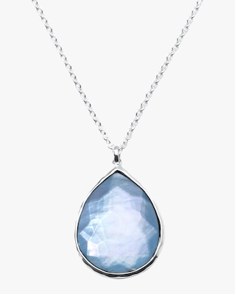 Wonderland Teardrop Pendant Necklace