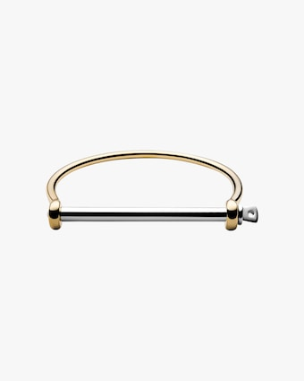 Thin Screw Cuff Bracelet