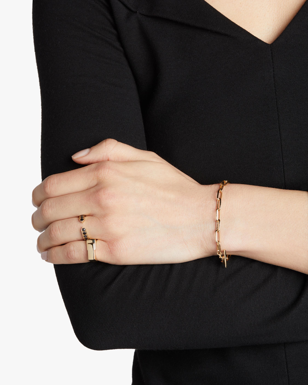 Lizzie Mandler Knife Edge Oval-Link Chain Bracelet 1