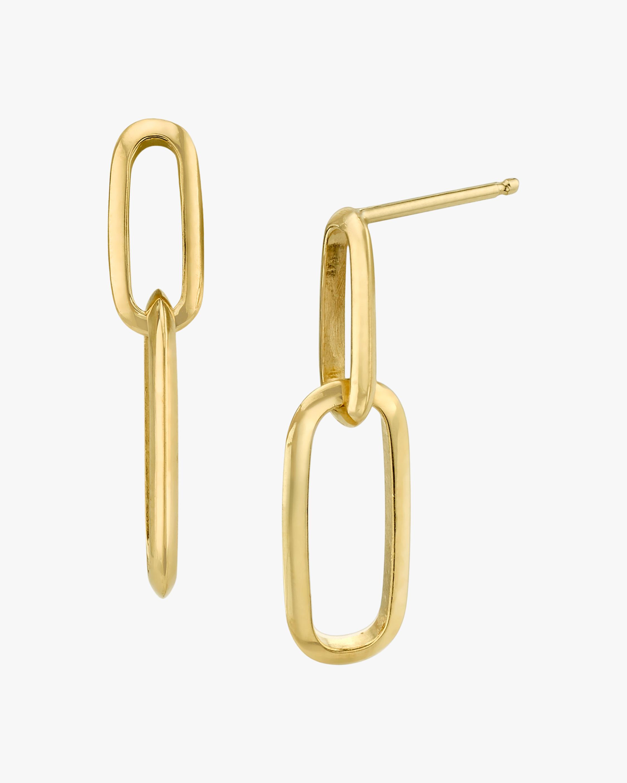 Lizzie Mandler Double Knife Edge Drop Earrings 2