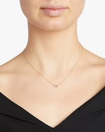 Lizzie Mandler One-Sided Pavé Linked Pendant Necklace 1
