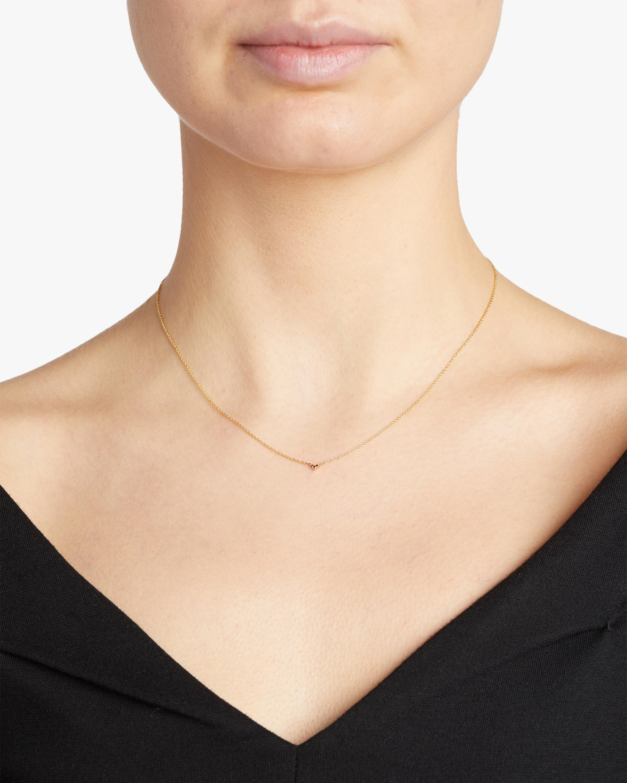 Lizzie Mandler Pavé V Necklace 2