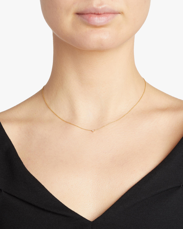 Lizzie Mandler Pavé V Necklace 1