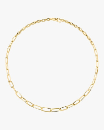 Knife Edge Oval-Link Choker
