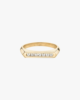 Carre Flat-Top Ring