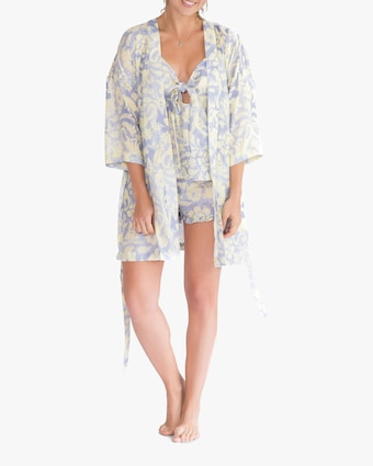 The Lazy Poet Lola Linen Robe 1