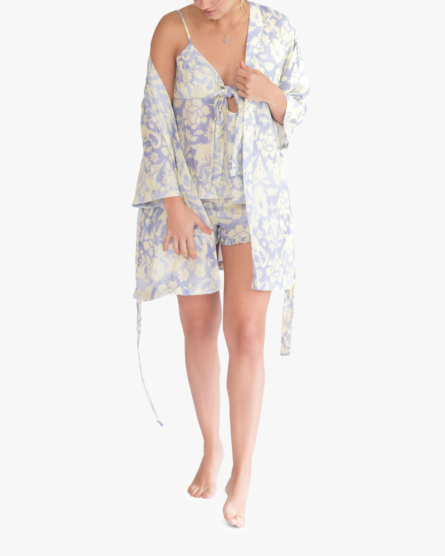 The Lazy Poet Lola Linen Robe 1