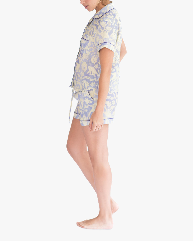 The Lazy Poet Nina Pajama Linen Top & Shorts 1