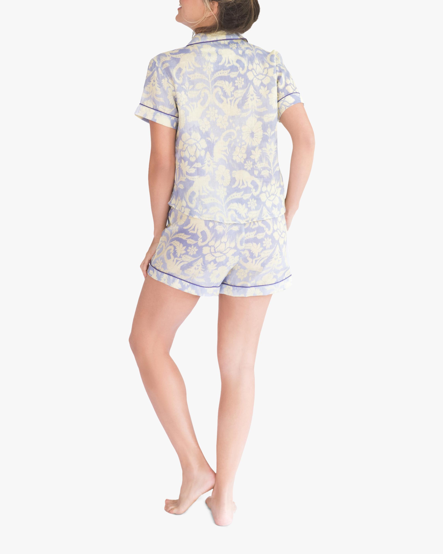 The Lazy Poet Nina Pajama Linen Top & Shorts 2