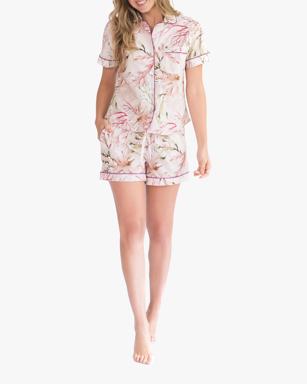 The Lazy Poet Nina Pajama Top & Shorts 1