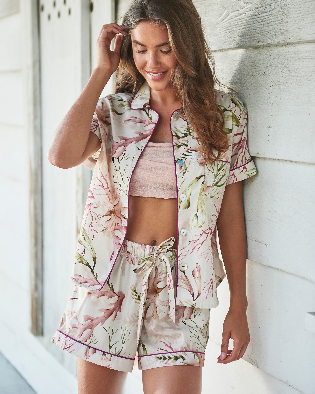 The Lazy Poet Nina Pajama Top & Shorts 2