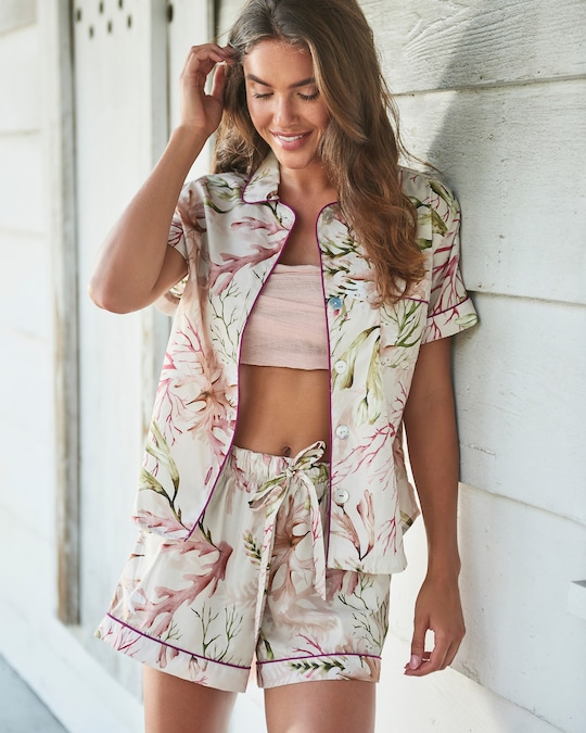 The Lazy Poet Nina Pajama Shorts Set 1