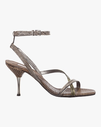 Luxurious Lizard Mix Sandal