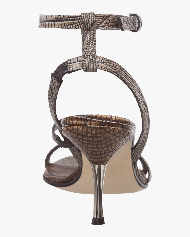 Luxurious Lizard Mix Sandal