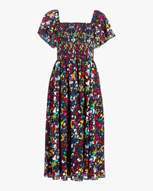 Tanya Taylor Glenda Midi Dress 0