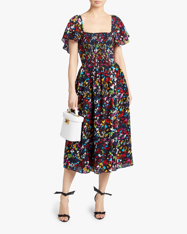 Tanya Taylor Glenda Midi Dress 1