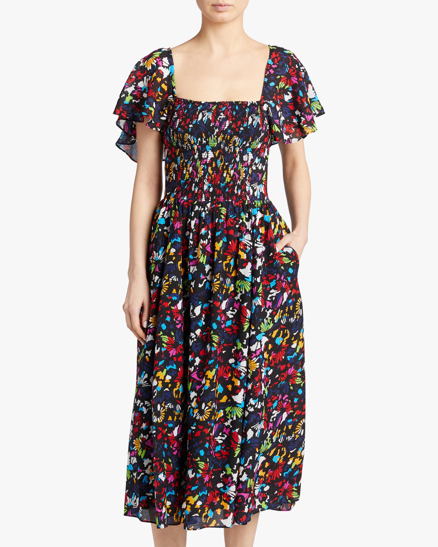 Tanya Taylor Glenda Midi Dress 2