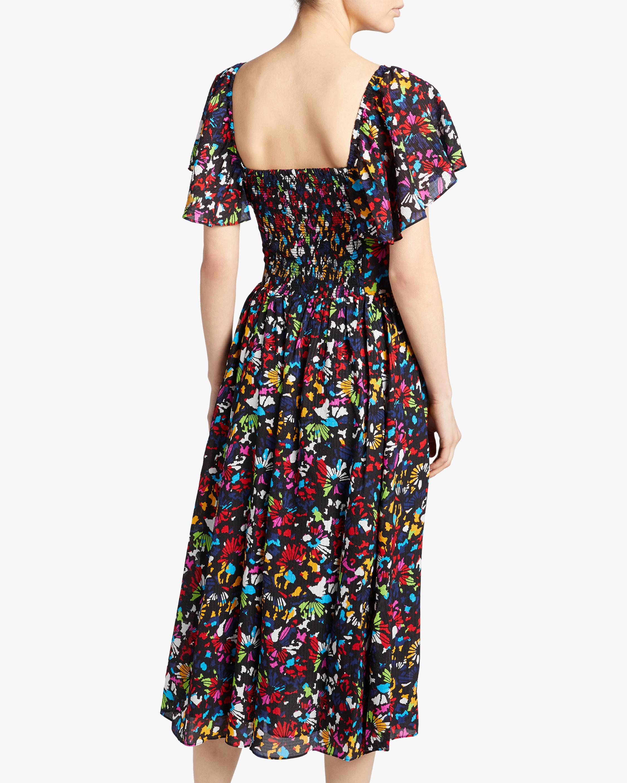 Tanya Taylor Glenda Midi Dress 3