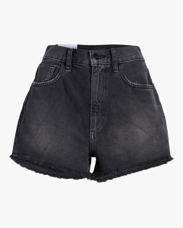 Joe's Jeans Frayed High-Rise Shorts 0