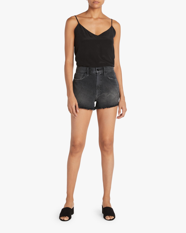 Joe's Jeans Frayed High-Rise Shorts 1