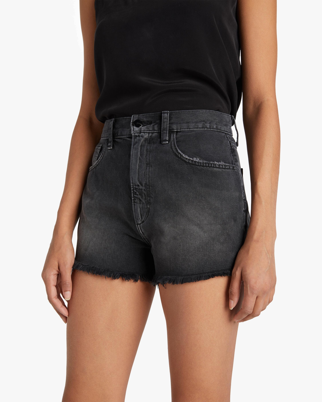 Joe's Jeans Frayed High-Rise Shorts 3
