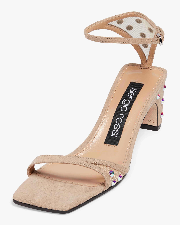 Sergio Rossi Studded Sandal 1