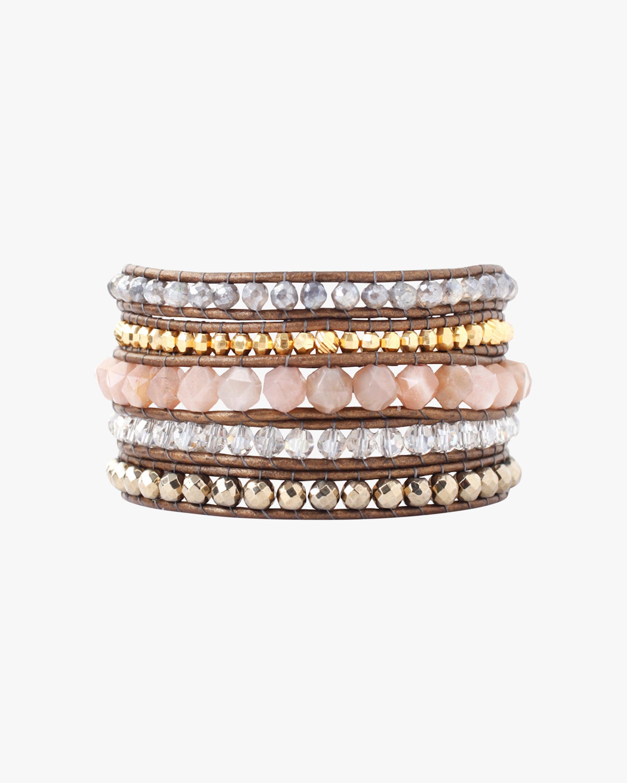 Chan Luu Pyrite Wrap Bracelet 0