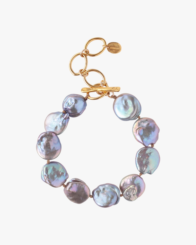 Keshi Pearl Beaded Bracelet
