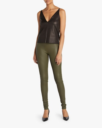 Stouls Stretch Leather Pants 2